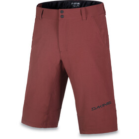 Dakine Derail Cycling Shorts Men red
